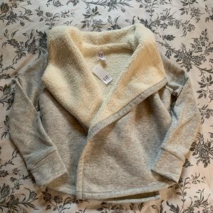Other - GAP Sherpa Lined Open Front Cardigan
